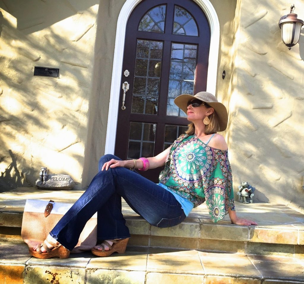 style bloggers over 40, midlife style, boho over 40, boho chic, Calfornia casual