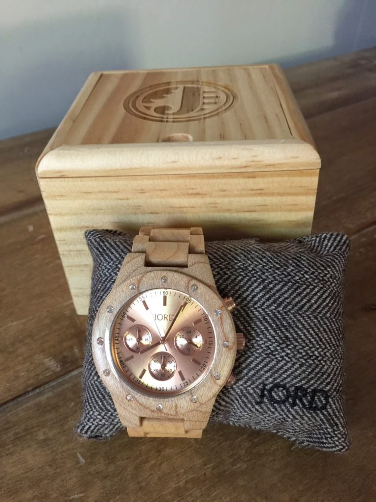 classy packaging for Jord watches, perfect gift, wooden watch