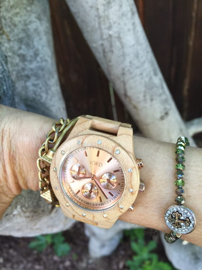 Jord watch review, arm party, styling a wooden watch, wood watch