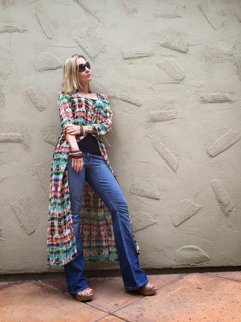 how to do boho after 40, dress as a coat, showinbuy review