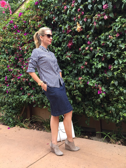 classy and preppy over forty, style bloggers in their forties