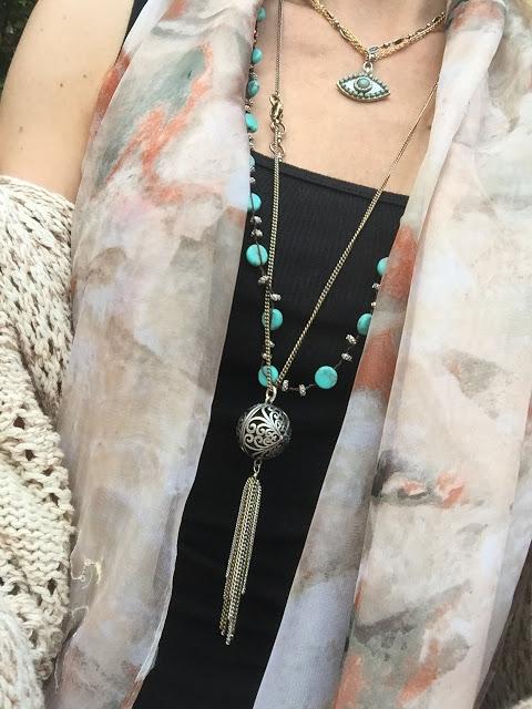 Michal Golan evil eye necklace, evil eye jewelry trend