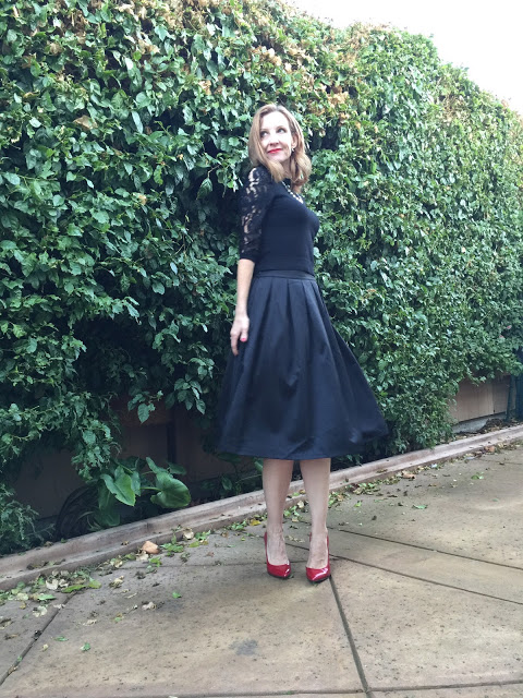 what to wear to a party over forty, Christmas style