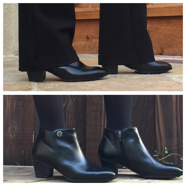 Rhea Footwear review, versatile booties