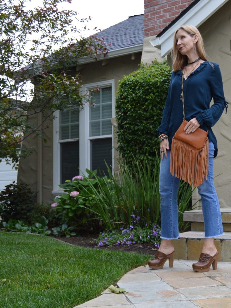boho look, style over forty