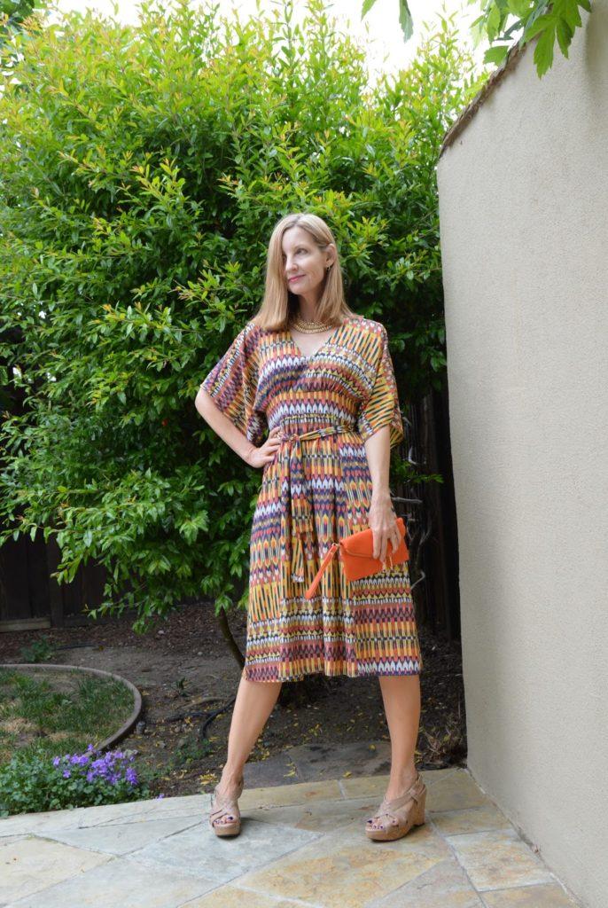 Karina Dress, Ikat print dresses