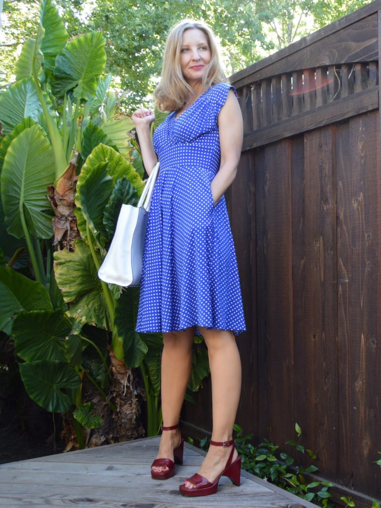 the perfect summer dress, summer 2016, July 4th party dress