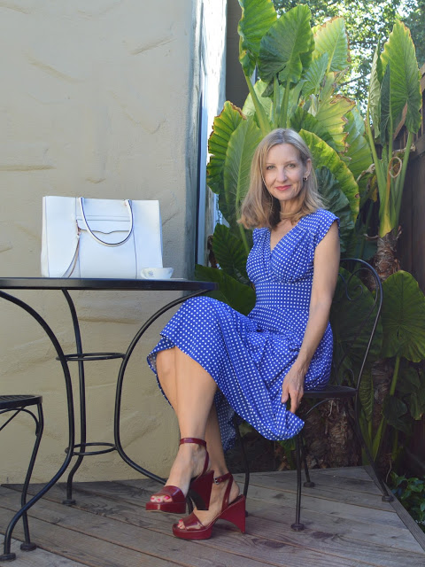 what to wear to a summer party, style over 40, flattering summer dresses