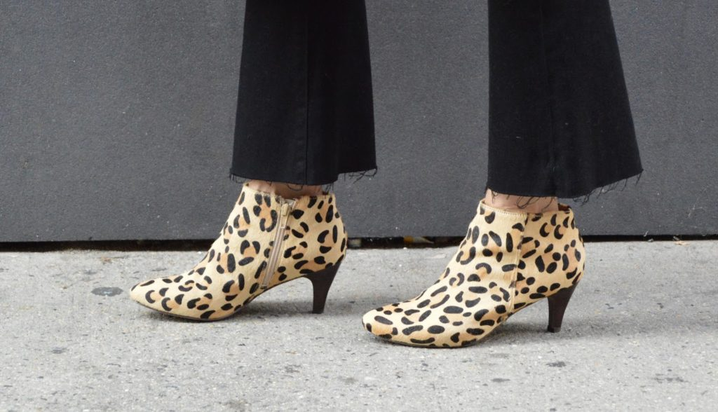 the best leopard booties for fall