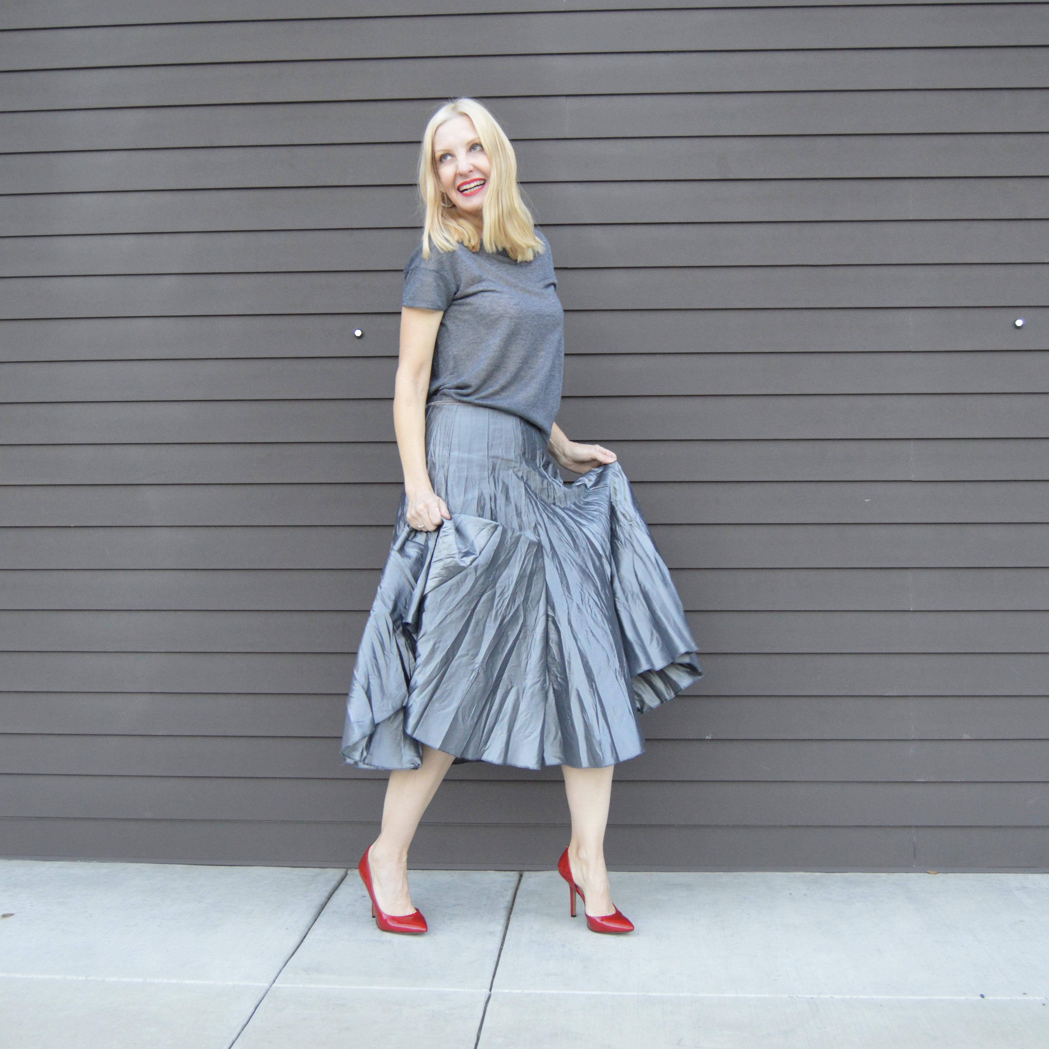 versatile party skirt