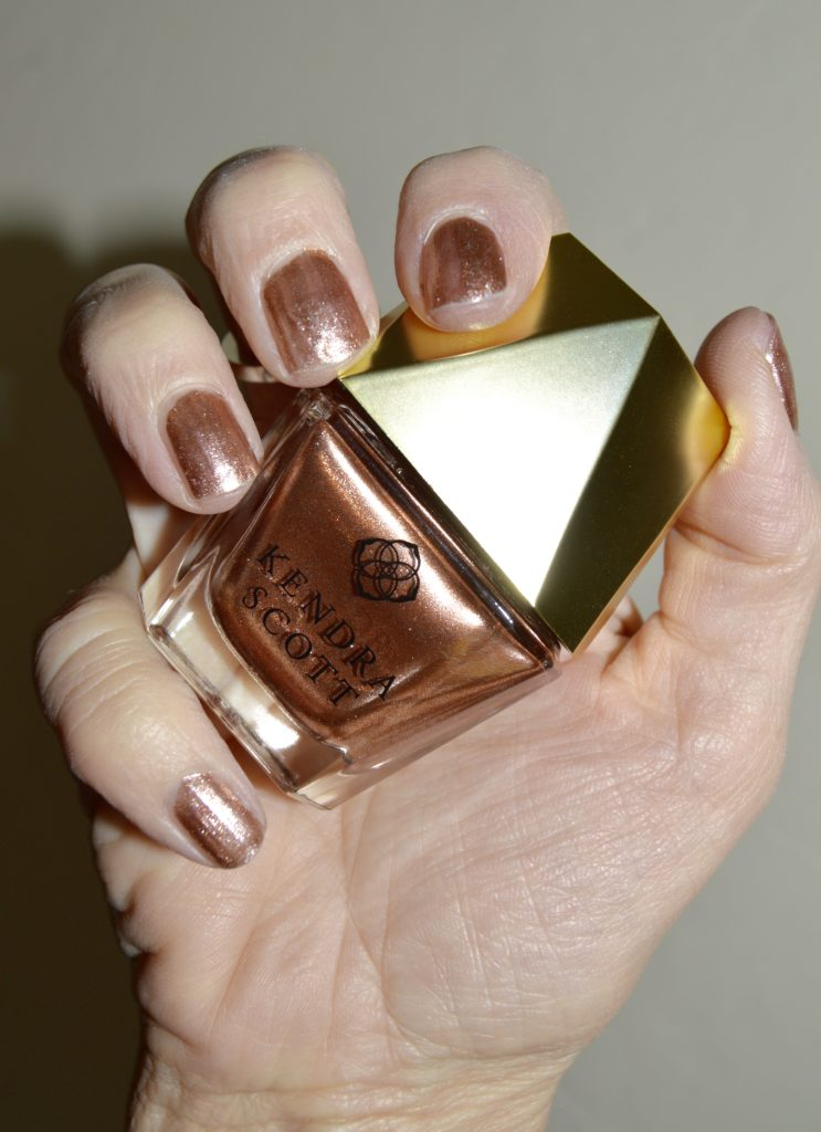 review of Kendra Scott Rose Gold Nail Lacquer