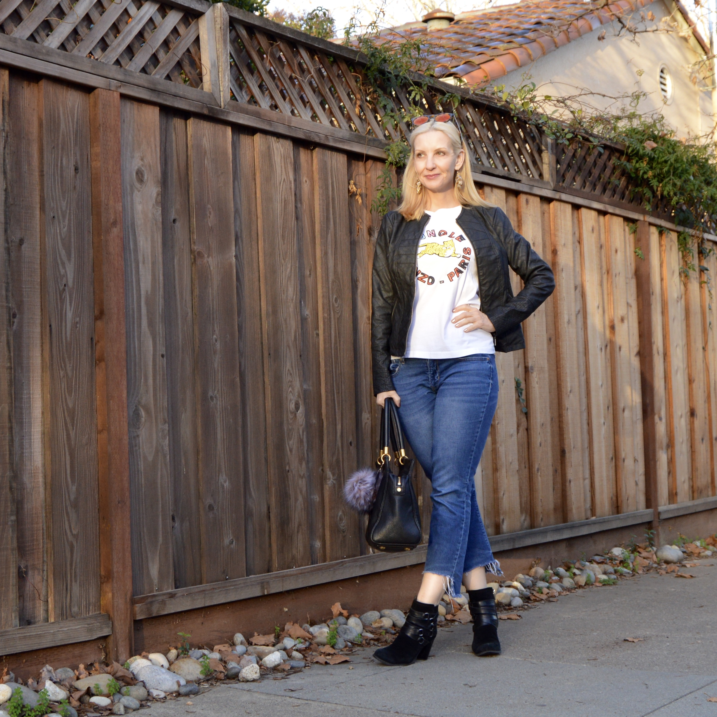 kenzo for HM review, how to style a graphic tee