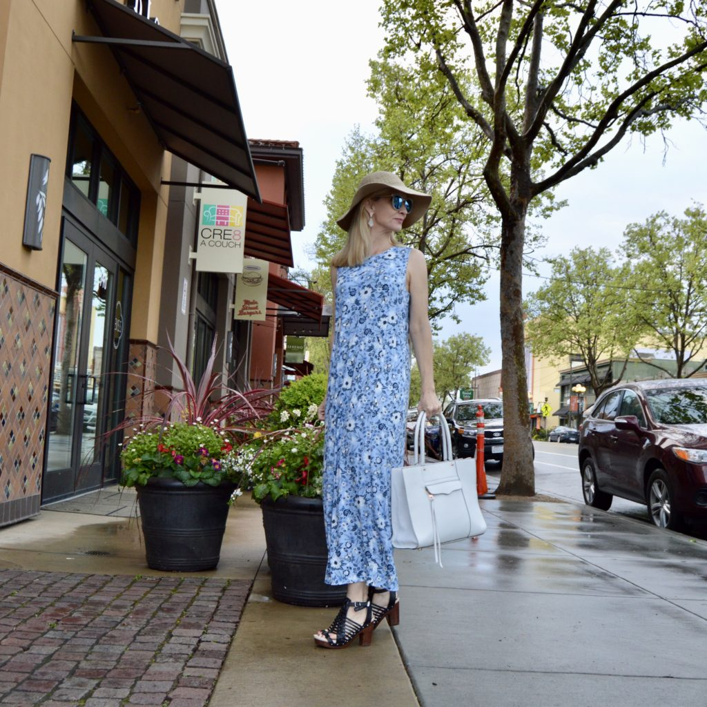 J Jill maxi dress review, comfortable dress