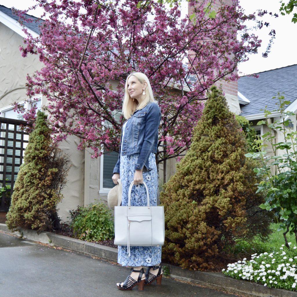 J Jill Shirred-Waist Maxi Dress review, style over 50