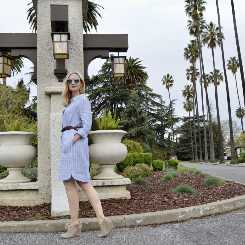 J Jill Linen Shirtdress review