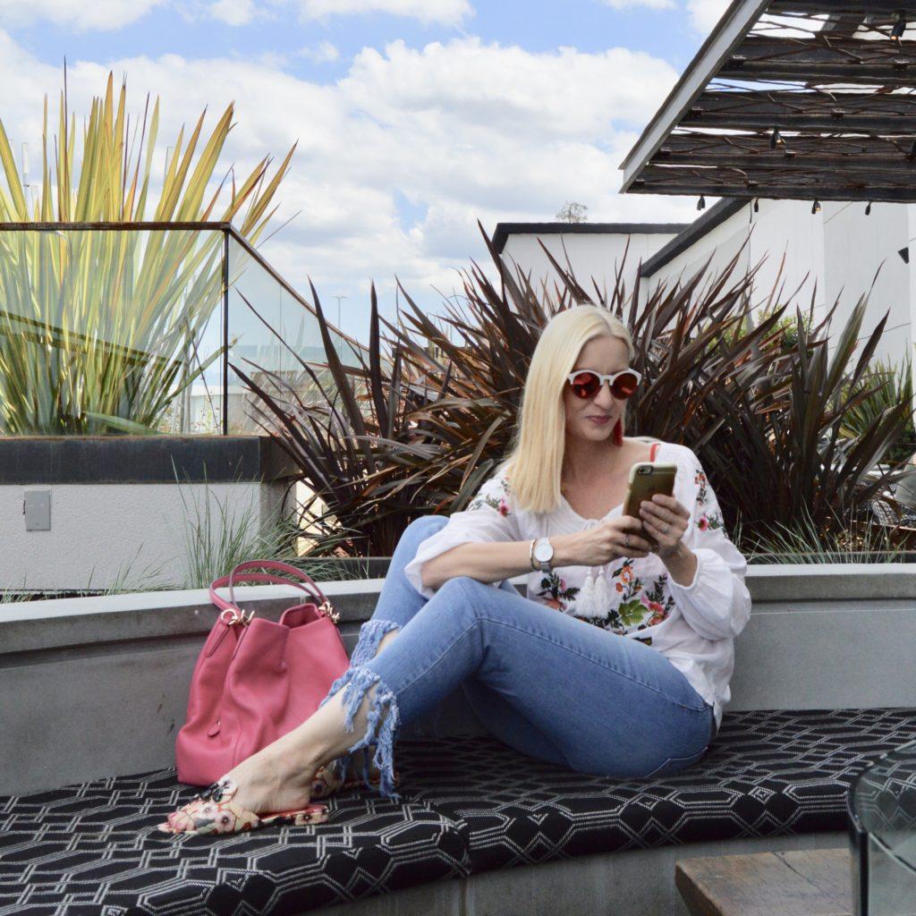 Spring trends over 40, Bauble Bar & Winkwood