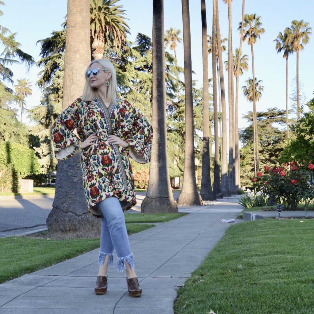 beautiful colorful kimono review, Shein