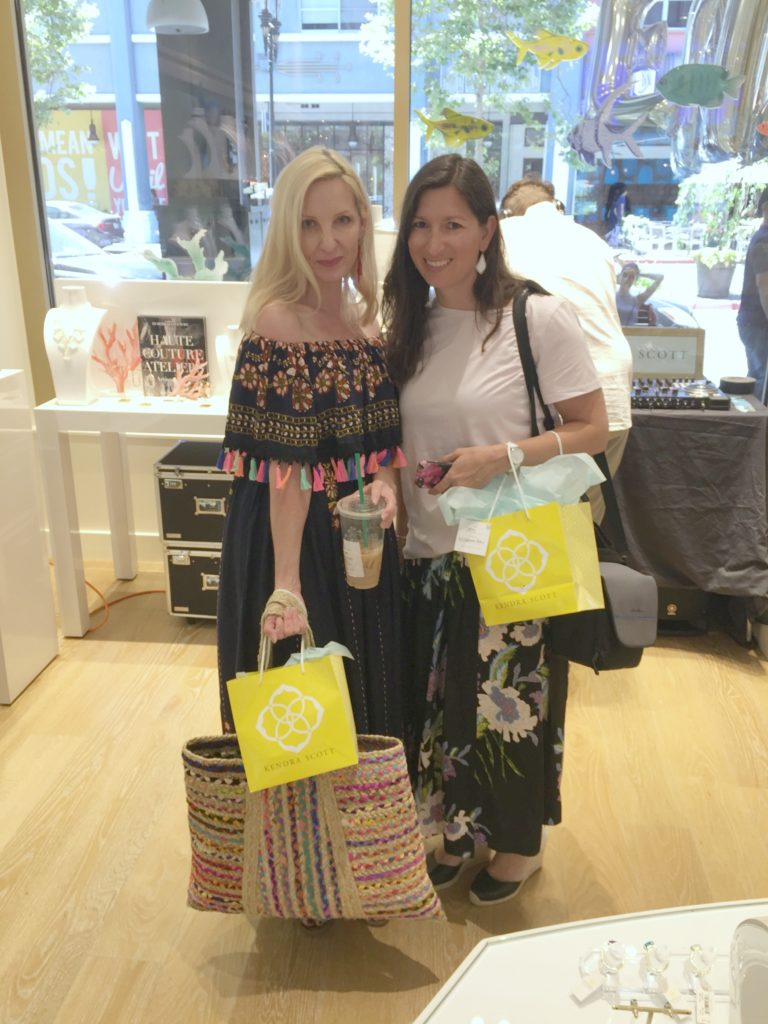 Kendra Scott party Santana Row