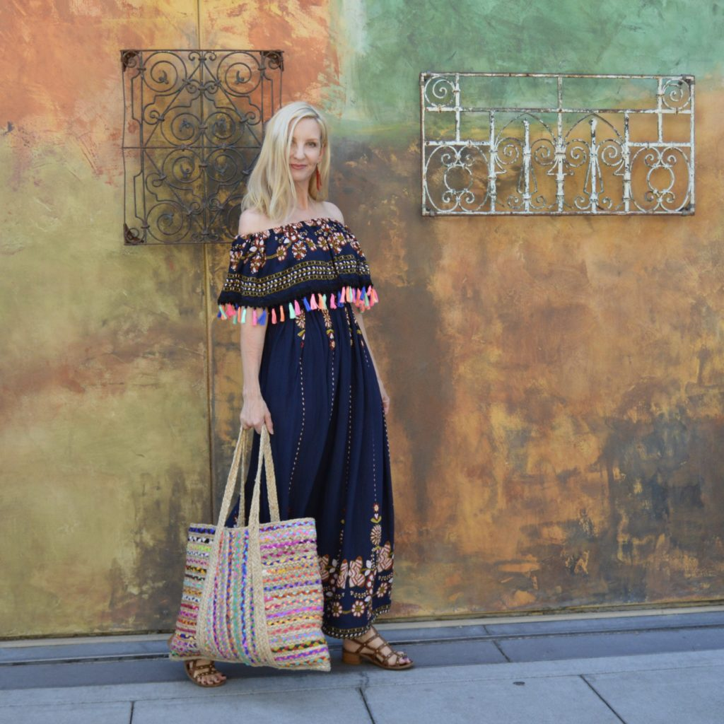 summer style at Santana Row