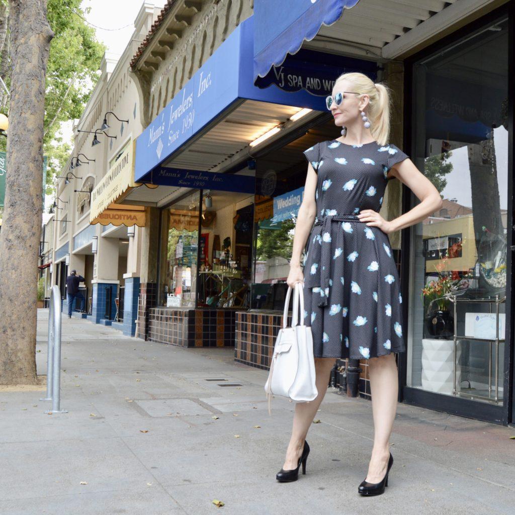 wrinkle-free dresses, flattering dresses