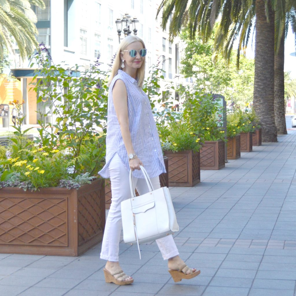 summer dressing over 40, style over 40