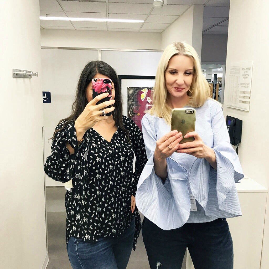 ee6016106298 Nordstrom Anniversary Sale - Dressing Room Selfies Part 1! - Fashion ...