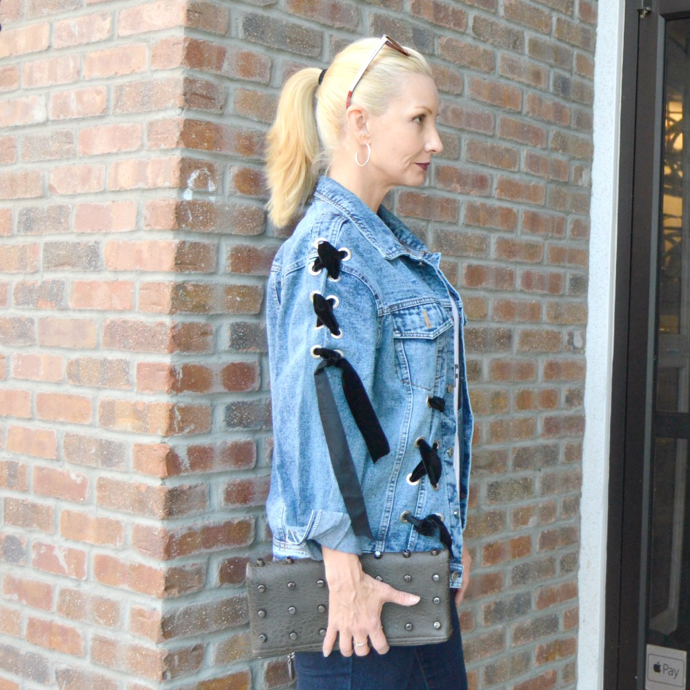 trendy affordable denim jacket