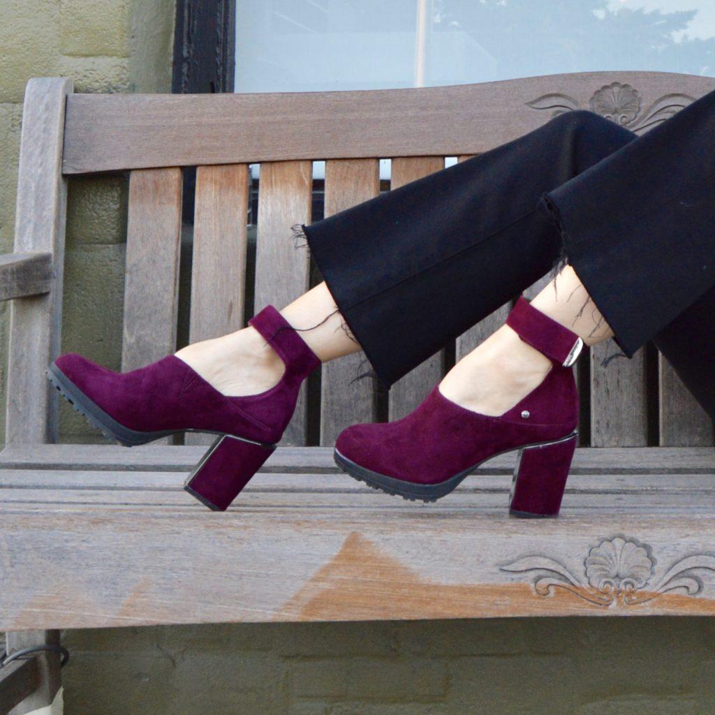 comfortable heels by Jambu Footwear