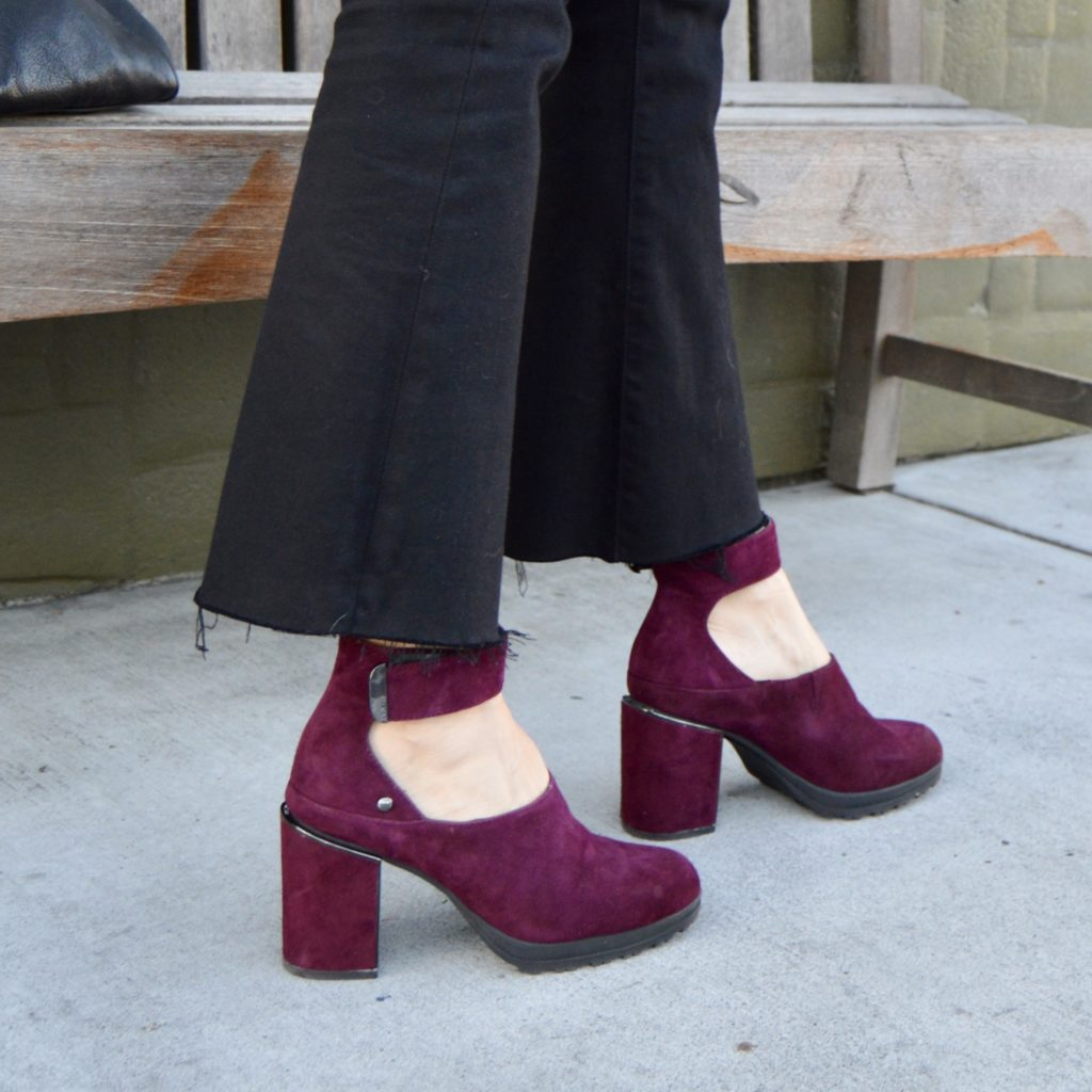 style over 40, comfortable heels