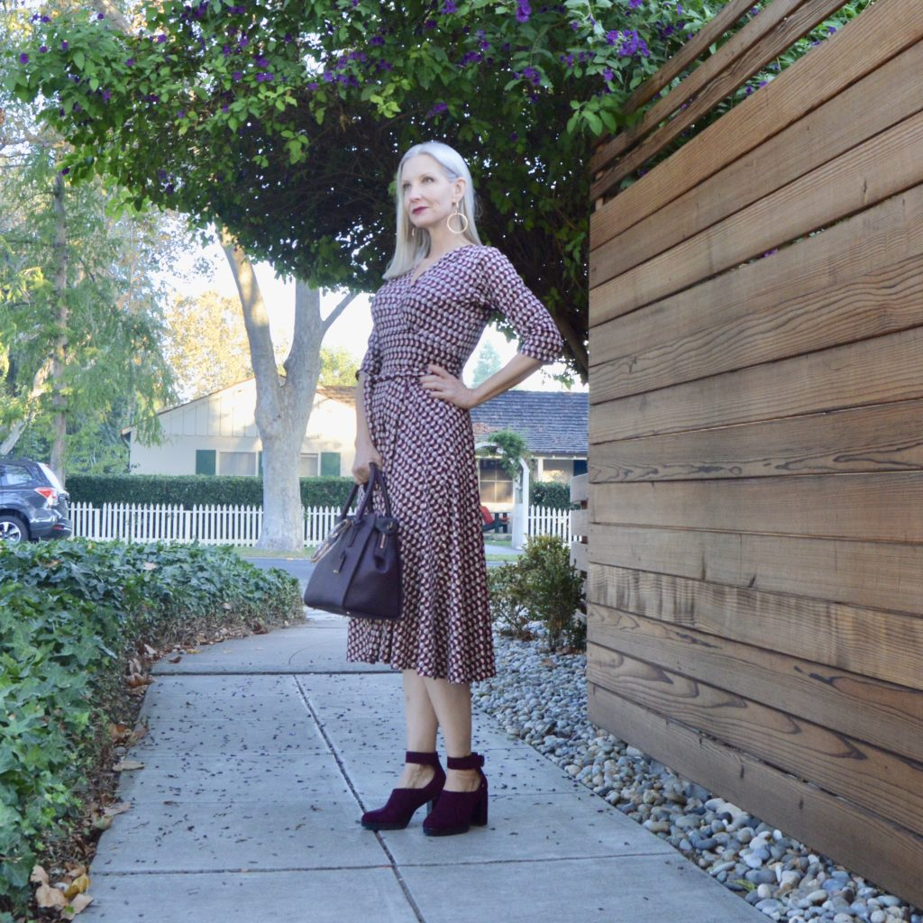 Karina dress review, Margaret dress