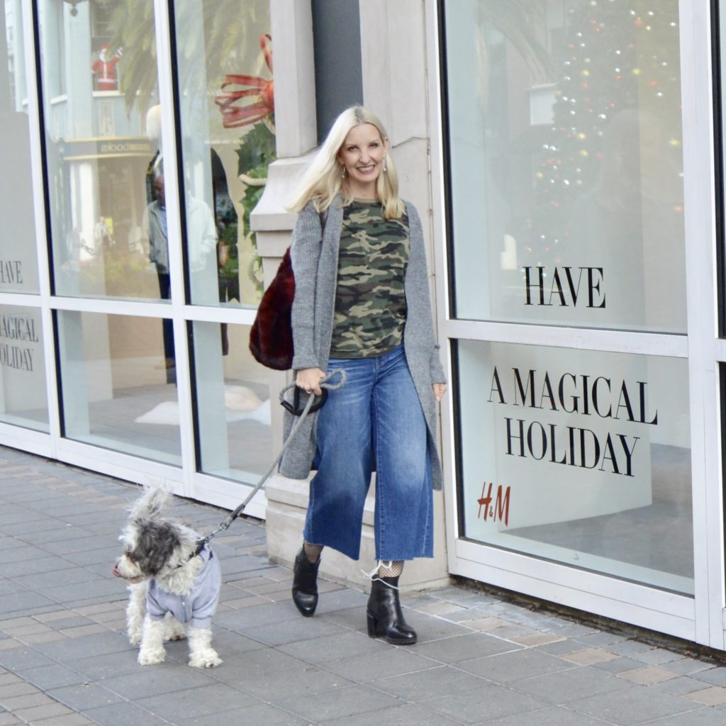 adopt a pet, how to style wide leg crops