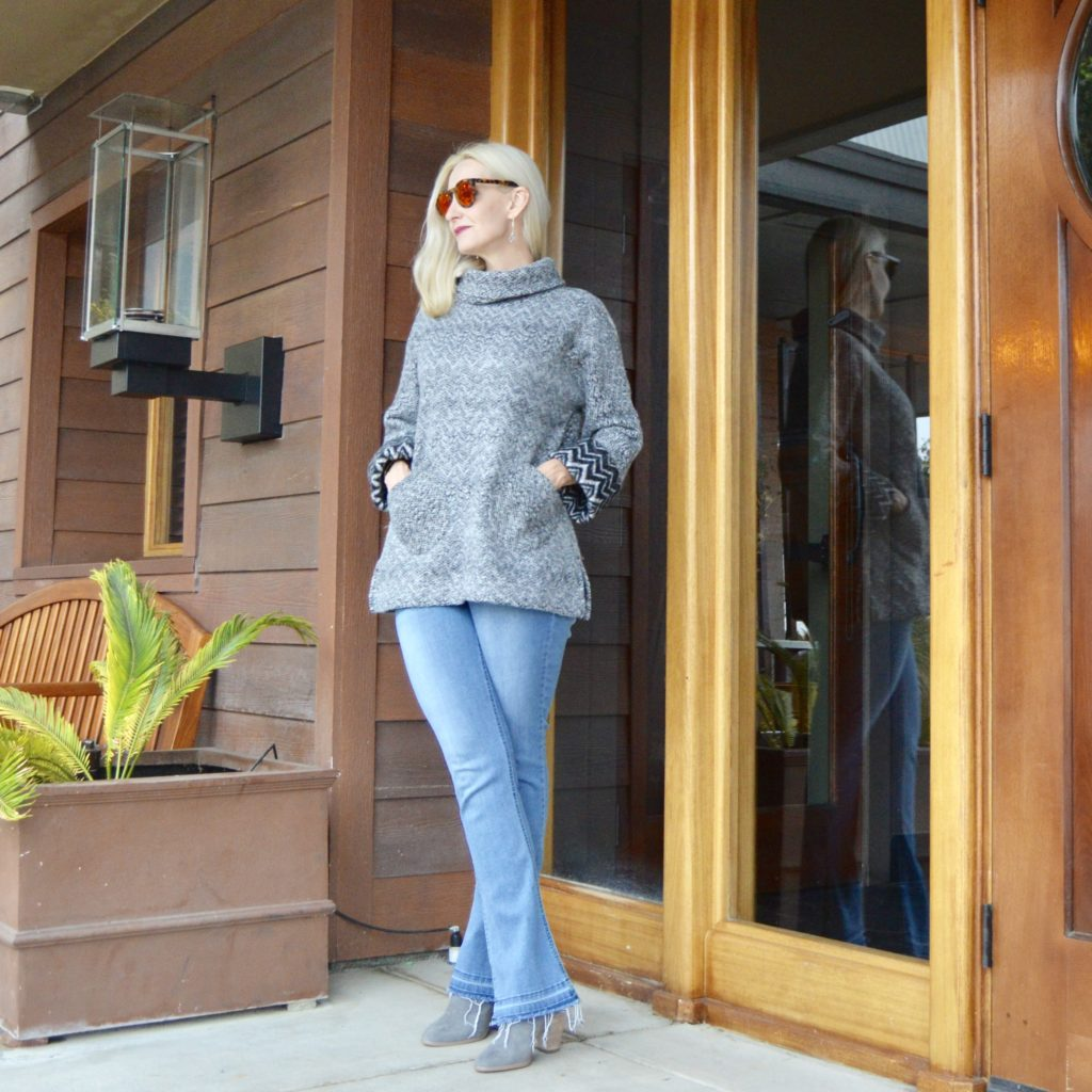 cozy apres ski sweater