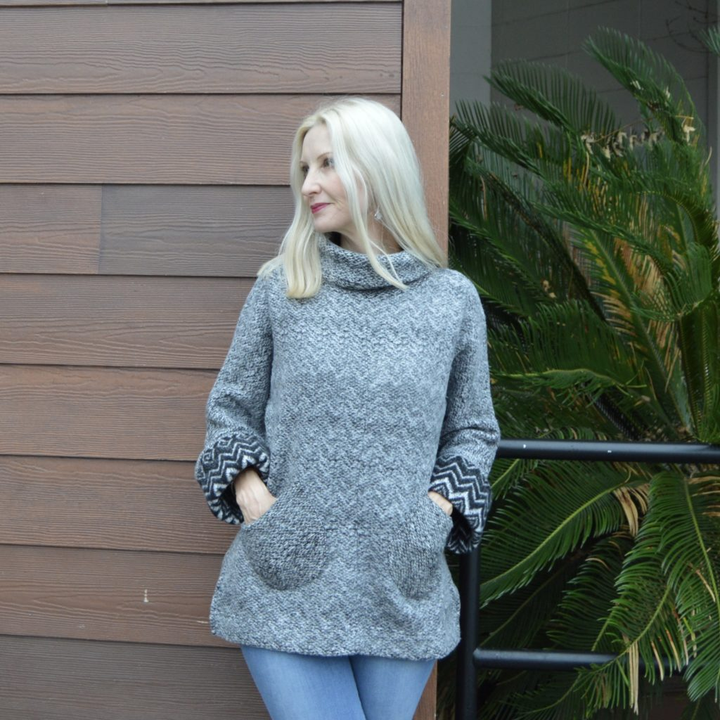 Soft Surroundings Alma Oversized Pullover