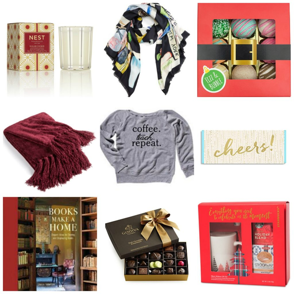 teacher gift guide, what to buy a teacher for the holidays