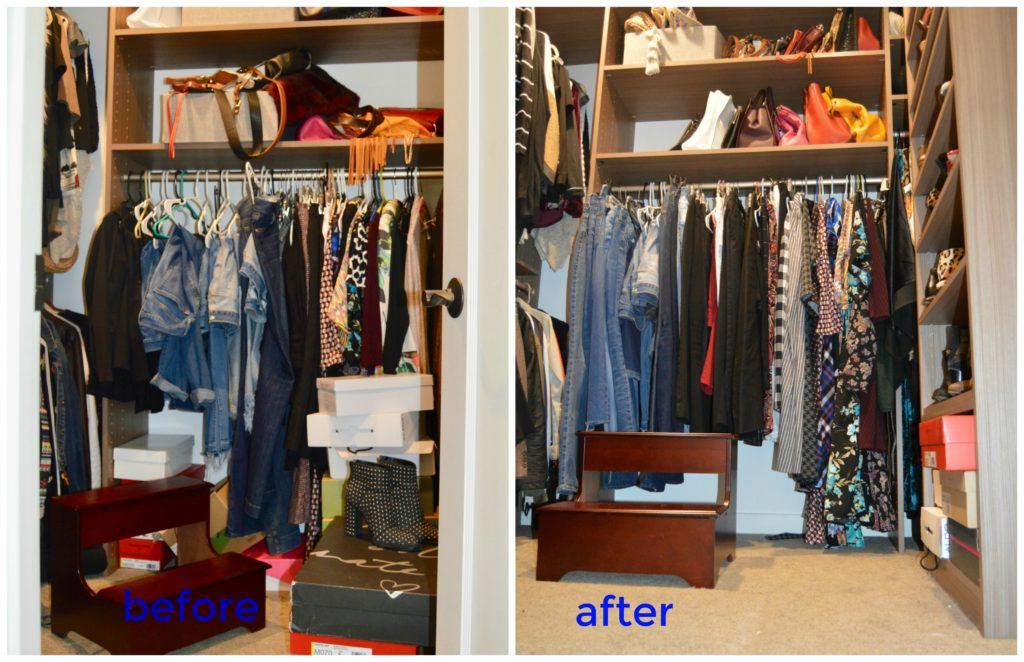 tips for a closet cleanout