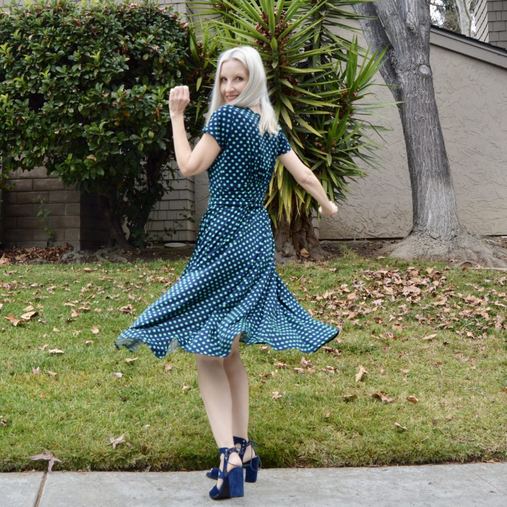 spring prints, Karina Dress review
