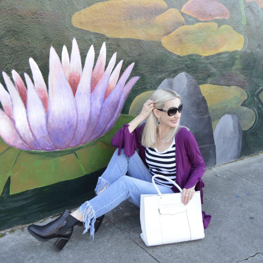 spring casual OOTD, California casual