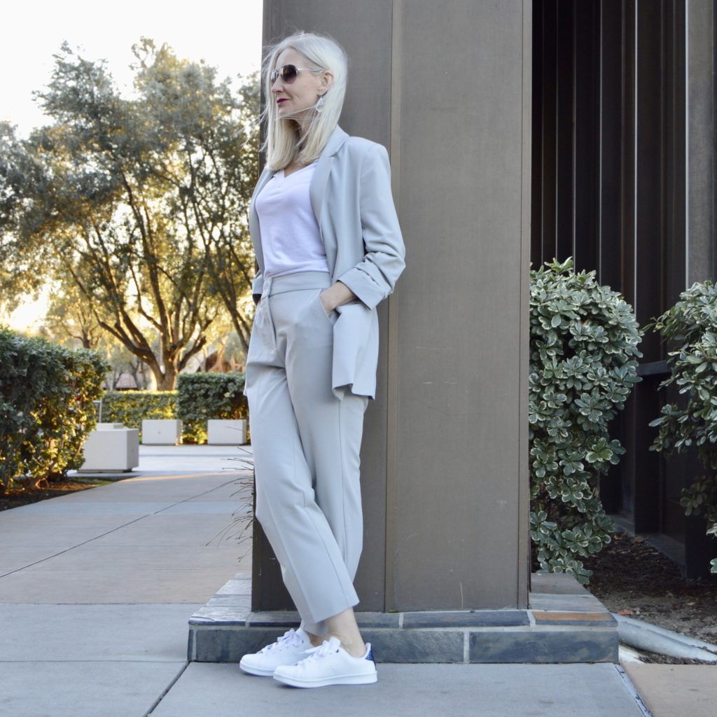 how to style a modern suit
