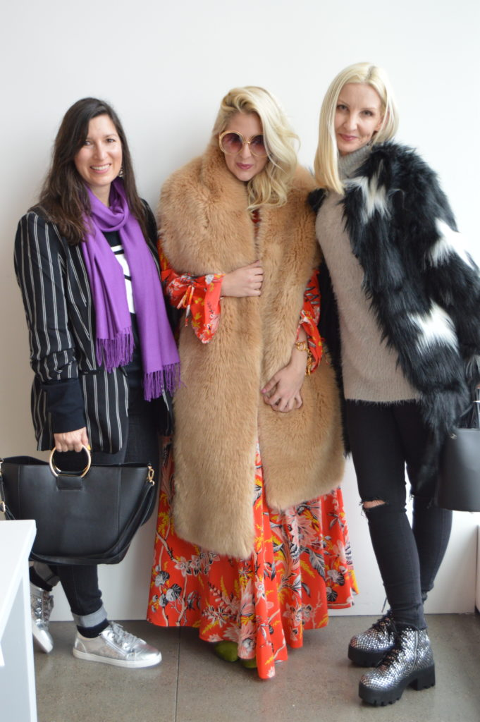 Silicon Valley Bloggers at NYFW