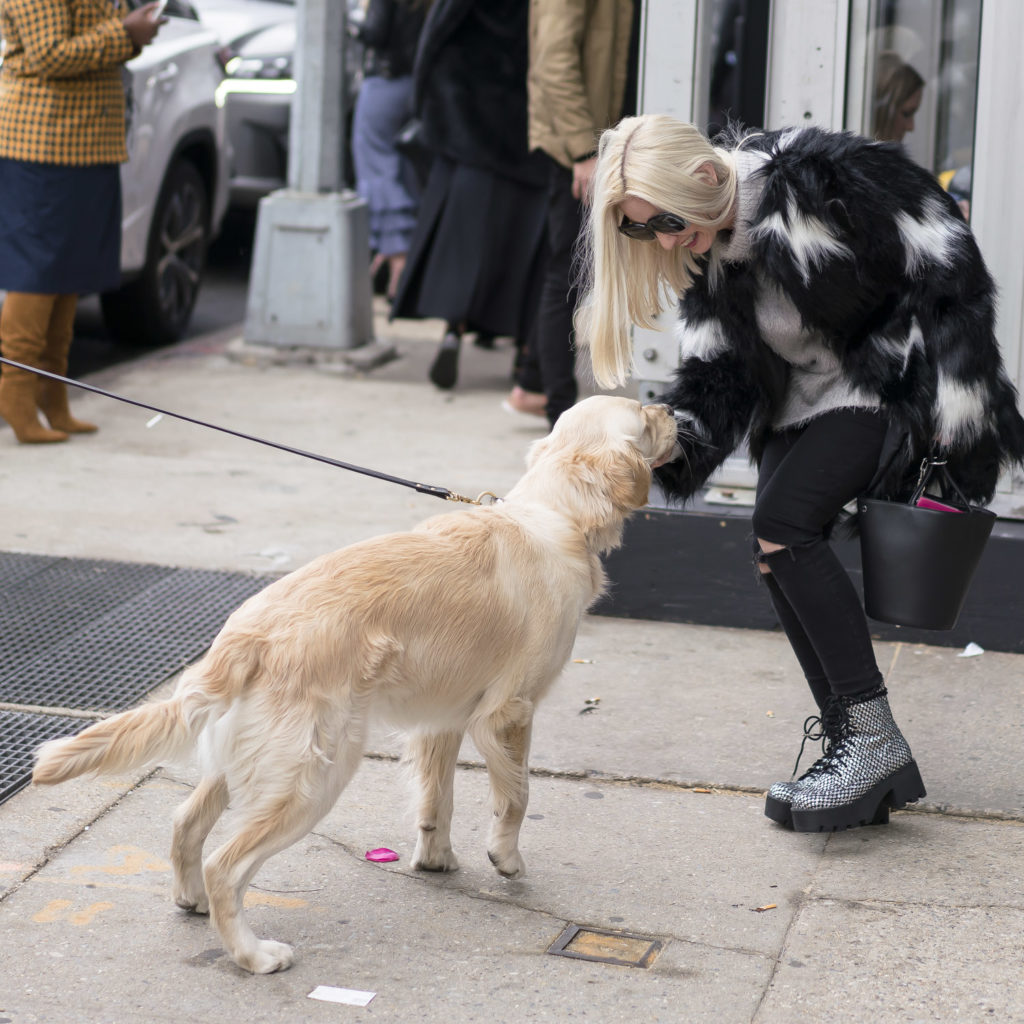 candid snaps at street style at nyfw