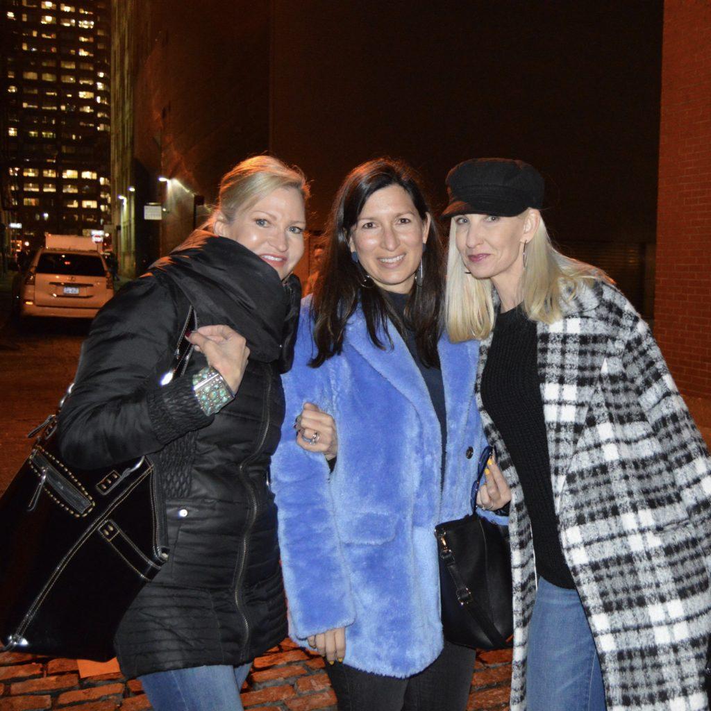 blogger babes at NYFW