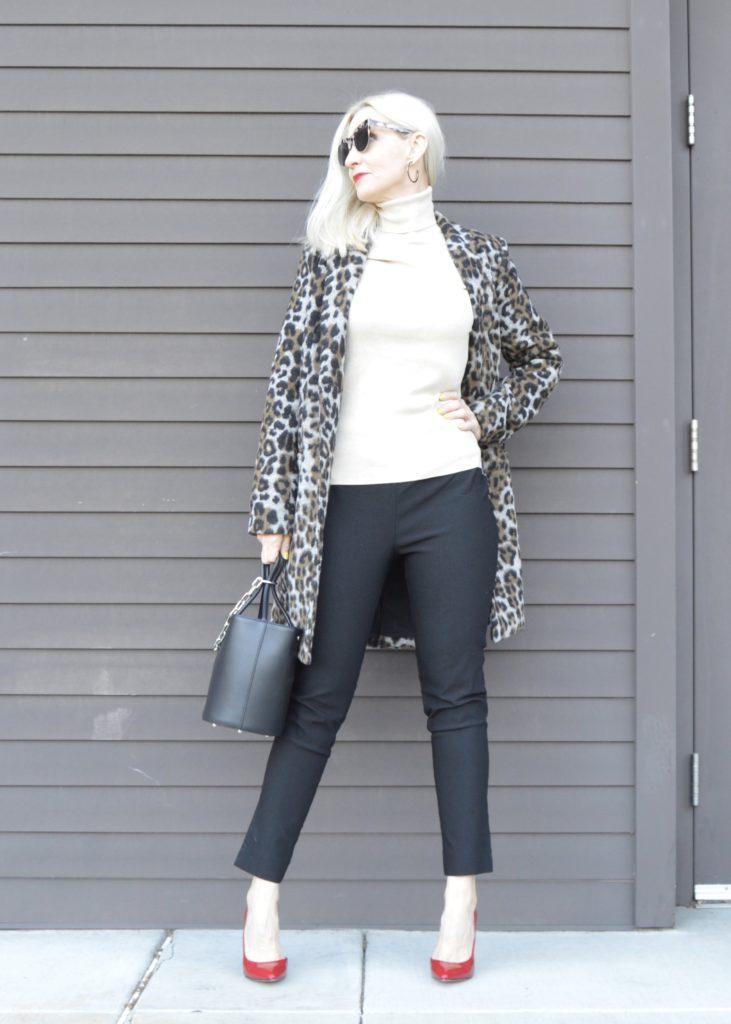 wardrobe staples, flattering black pants