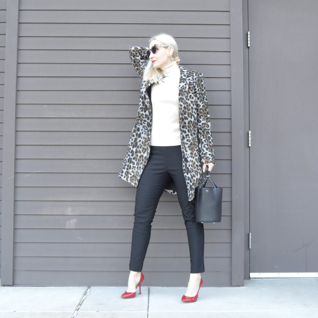 using basics to build a wardrobe and an outfit