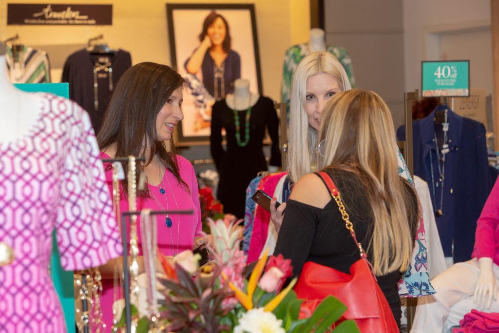 girl time at Chico's Santana Row