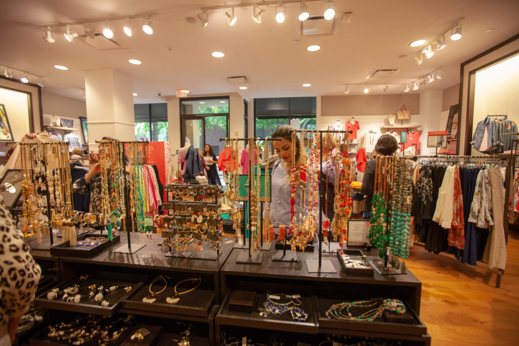 Chico's Santana Row spring jewelry collection