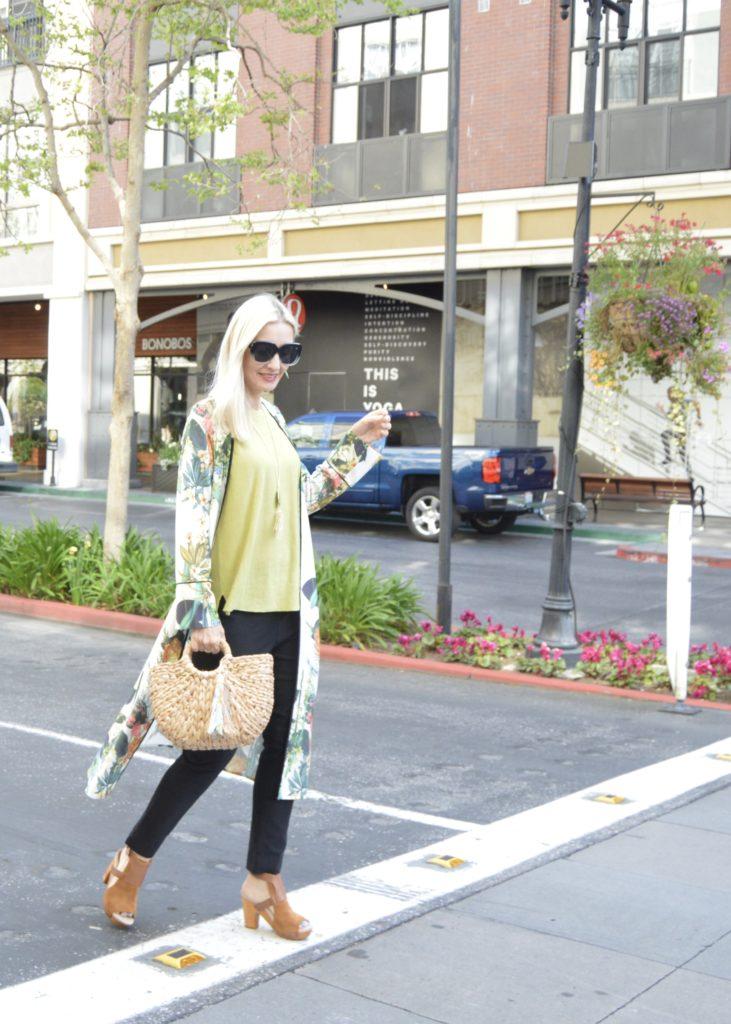J.Jill Adrienne sweater with kimono