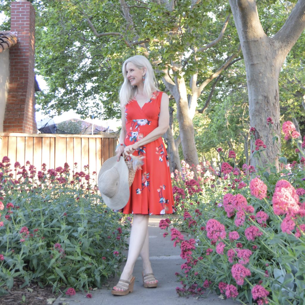 Karina's Audrey dress in Summertime Tango