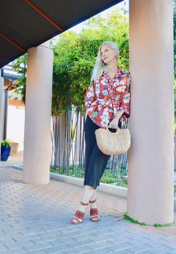 kimono top trend over 40