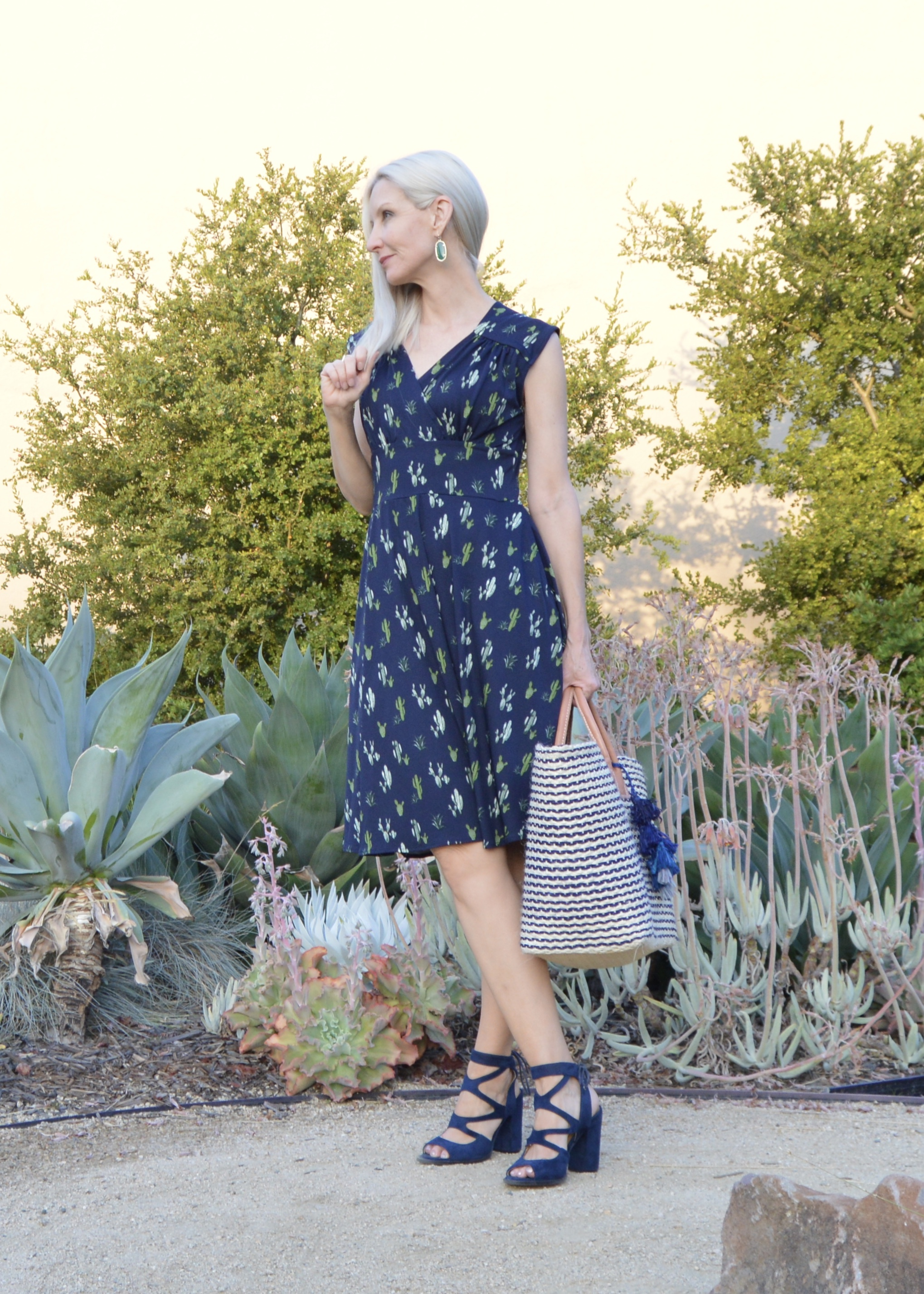 Karina Nora Dress in Cactus