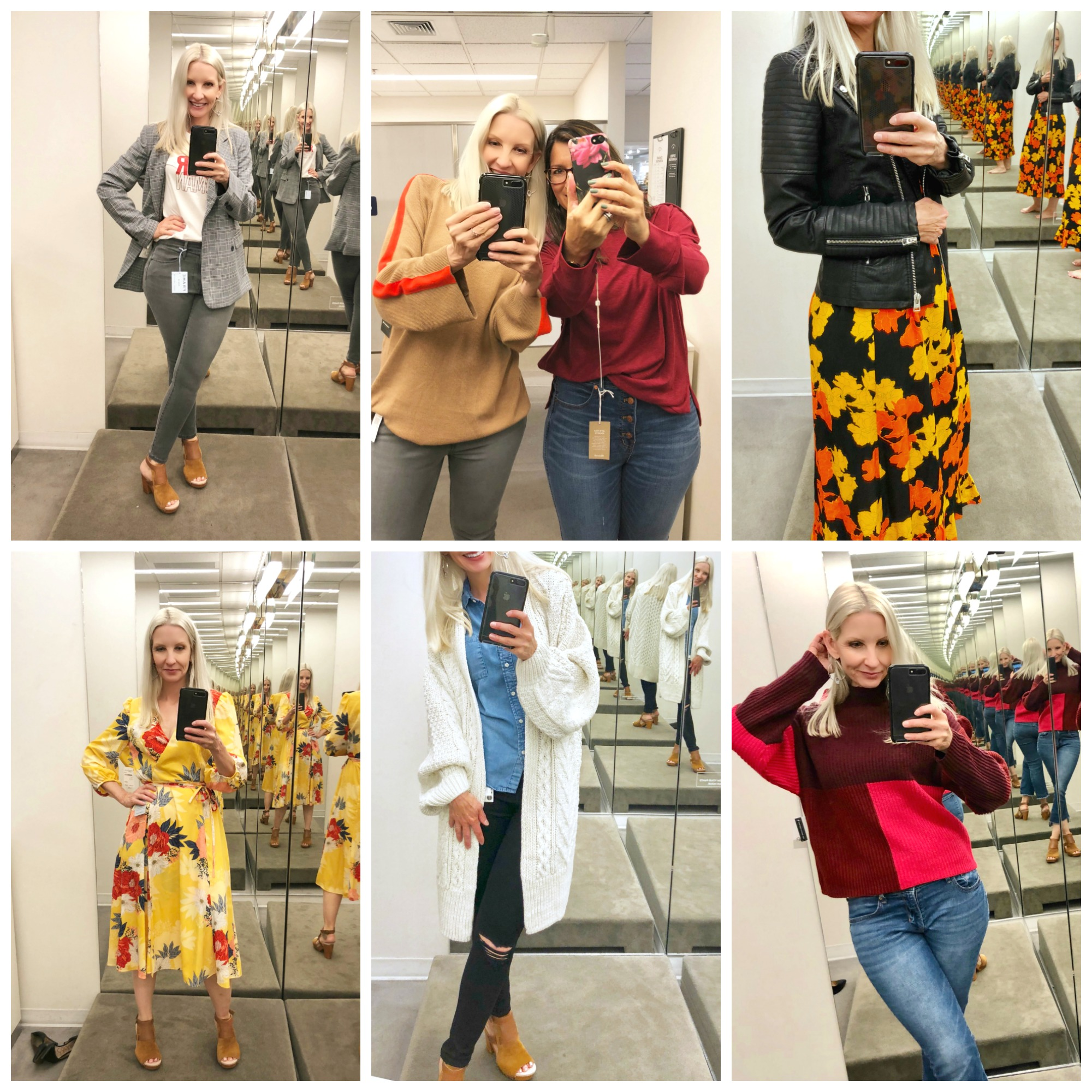 Nordstrom Anniversary Sale Dressing Room Selfies